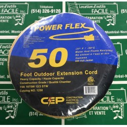 Extension cord 50 foot outdoor