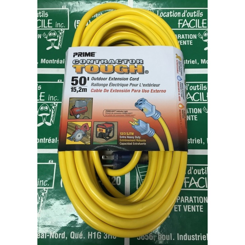 Extension cord 12/3-50'