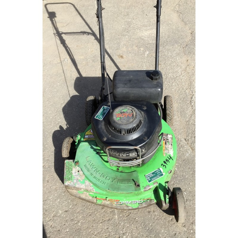 Lawn mower without bag