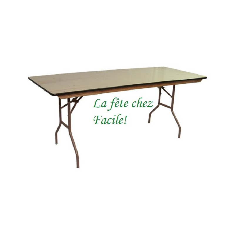 "Table rectangle 30"" X 96"""