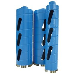 dry core bits for masonry